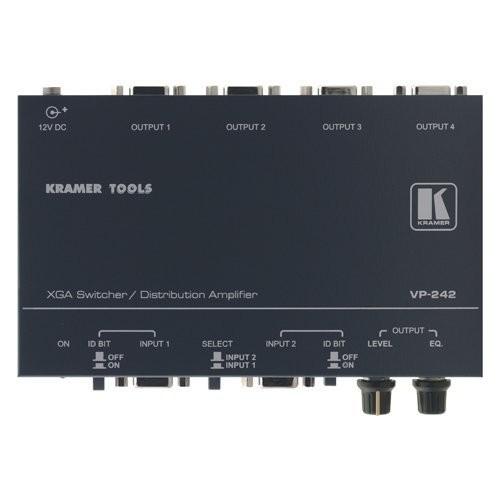 Kramer VP-242 2x1:4 Computer Graphics Video Switcher