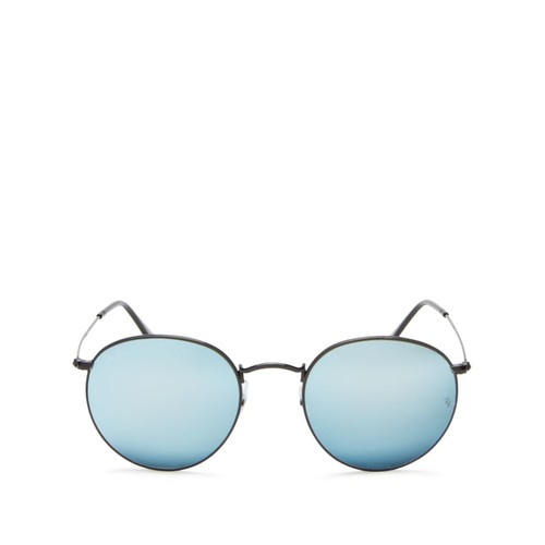 RAY-BAN Mirrored Round Sunglasses, 53Mm - 100% Exclusive