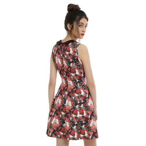 Disney Alice Through The Looking Glass Red Queen Dress