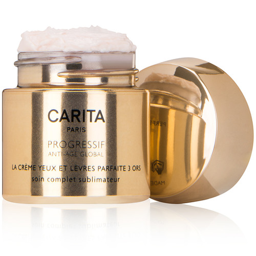 Perfect Cream Trio of Gold For Eyes and Lips (0.47 oz.)