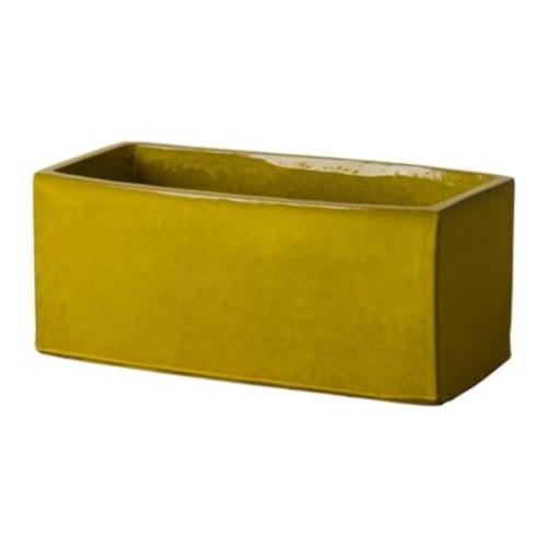 Emissary Window Box Planter in Yellow
