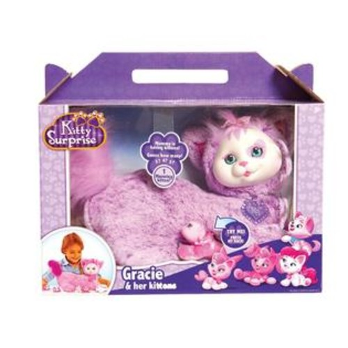 Just Play Kitty Surprise Plush, Gracie