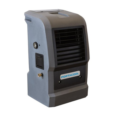 PORTACOOL Cyclone 110 1000 CFM 2-Speed Portable Evaporative Cooler for 300 sq. ft.