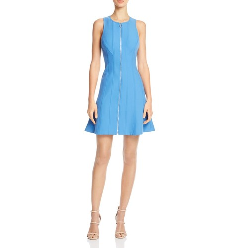 ELIZABETH AND JAMES Susannah Zip-Front Dress
