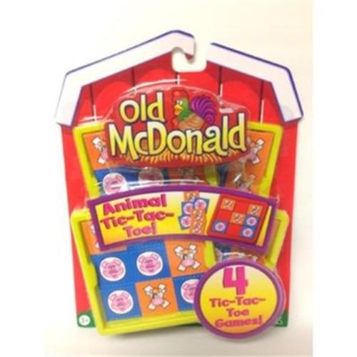 Tara Toy Old McDonald Tic-Tac-Toe Games (DLR349426)