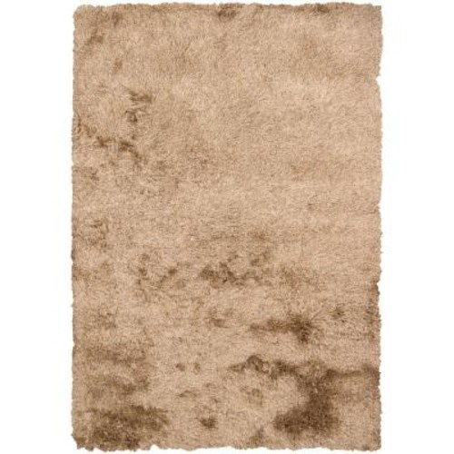 Chandra Vani Tan/Beige 5 ft. x 7 ft. 6 in. Indoor Area Rug