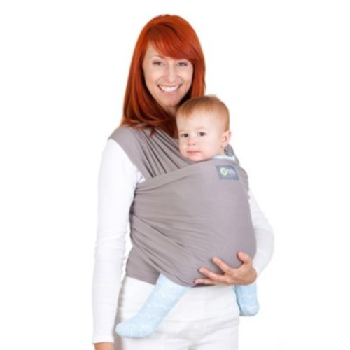 boba Wrap Baby Carrier in Grey