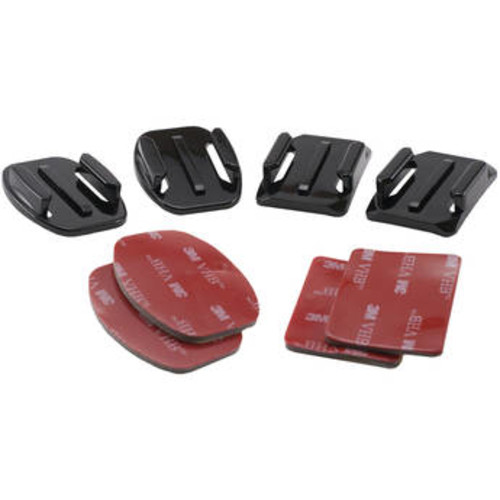 Two Flat & Two Curved Surface Mounts with 3M Adhesive Pads