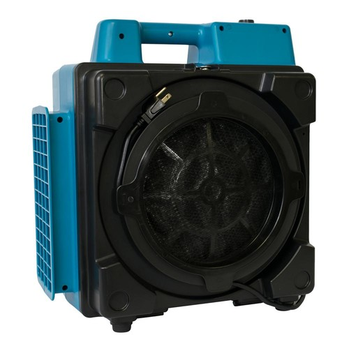 XPOWER 550 CFM Commercial 4-Stage Filtration HEPA Purifier System Mini Air Scrubber