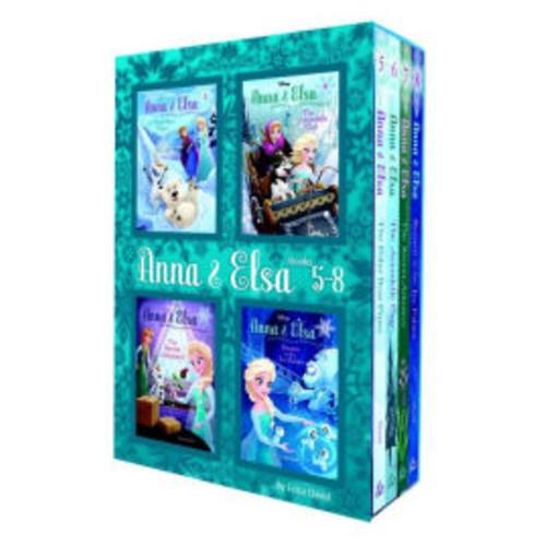 Anna & Elsa: Books 5-8 (Disney Frozen)