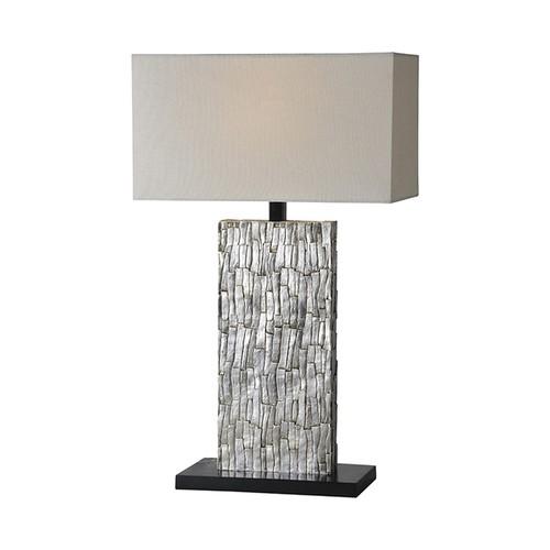 Ren-Wil Santa Fe Silver Leaf Table Lamp