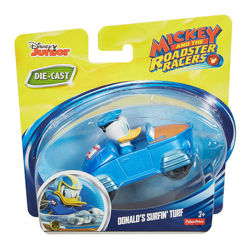 Fisher-Price Disney Mickey and The Roadster Racers - Donald's Surfin' Turf