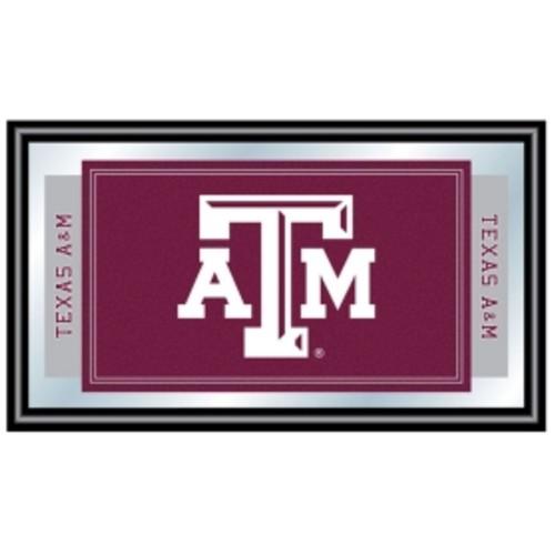 Trademark Games Texas A&M Aggies Framed Team Logo Mirror