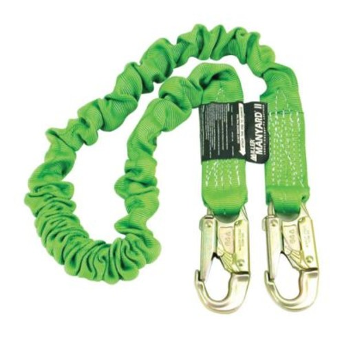 Miller Manyard II 6' Stretchable Web Lanyard With Two Locking Snap Hooks