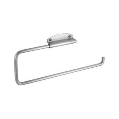 interDesign Forma Swivel Wall-Mount Paper Towel Holder in Brushed Stainless Steel