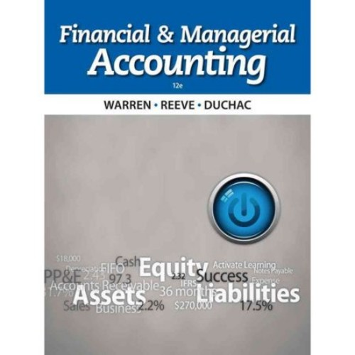 Financial and Managerial Accounting [Book]