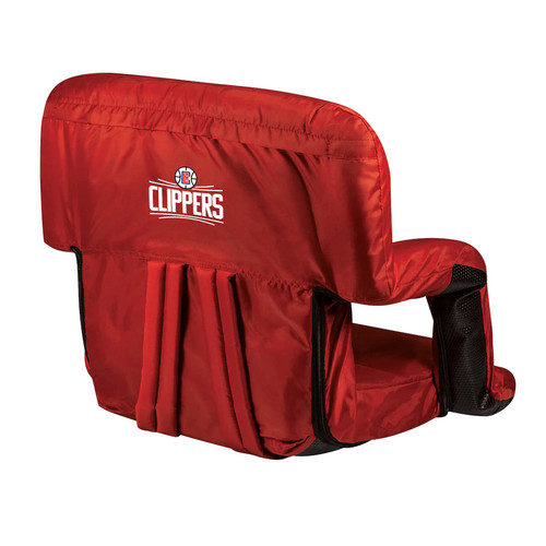 Picnic Time Los Angeles Clippers Ventura Portable Reclining Seat