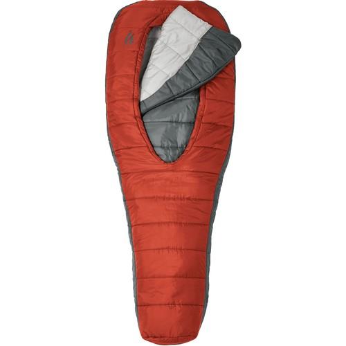 Sierra Designs Backcountry Bed 1.5 Season Sleeping Bag [Red,Regular]