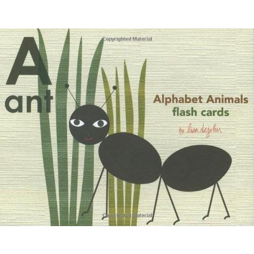 Alphabet Animals Flash Cards