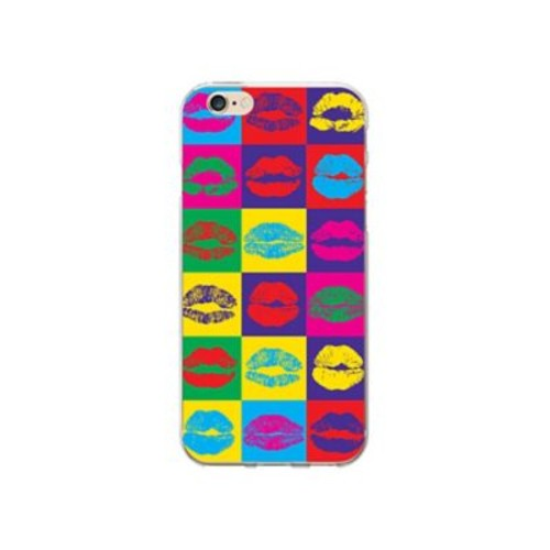 OTM Prints Clear Phone Case, Hot Lips - iPhone 6/6S Plus