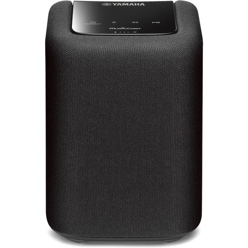 Yamaha MusicCast WX-010 (Black) Compact wireless powered speaker with Wi-Fi, Bluetooth, and Apple AirPlay