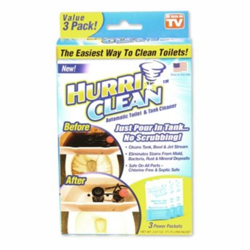 Hurriclean 3-Pack Automatic Toilet Cleaner