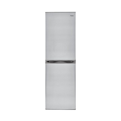 Haier - 10.2 Cu. Ft. Bottom-Freezer Refrigerator - Virtual steel