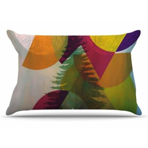 East Urban Home alyZen Moonshadow 'Hidden Face' Pillow Case