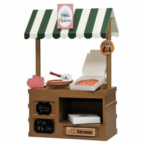 The Queen's Treasures Doll Pizza Shop & Accessory Set
