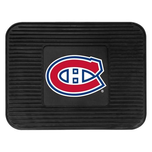 Fanmats 10772 NHL Montreal Canadiens Rear Second Row Vinyl Heavy Duty Utility Mat [Black, Rear]