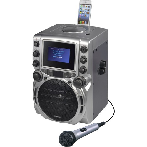 DOK GQ743 CDG Karaoke Machine with 4.3