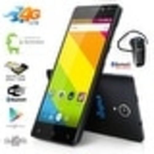 Indigi Android 6.0 2Sim SmartPhone 4G LTE Unlocked TMobile + Bluetooth Bundle - Black