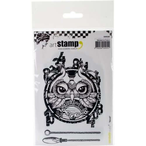 Carabelle Studio Cling Stamp A6-Alarm Clock
