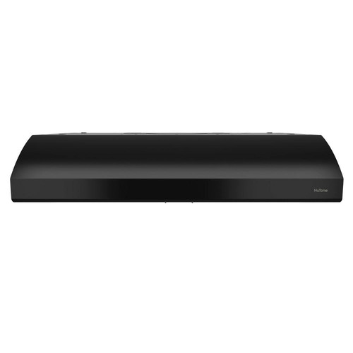 NuTone Osmos 30 in. Convertible Range Hood in Black