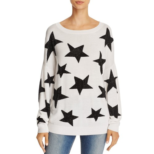 ALICE AND OLIVIA Bao Embellished Star Sweater