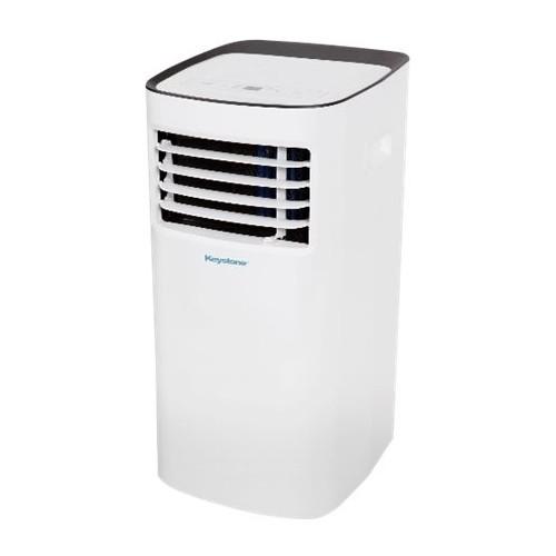 Keystone - 10,000 BTU Portable Air Conditioner - White