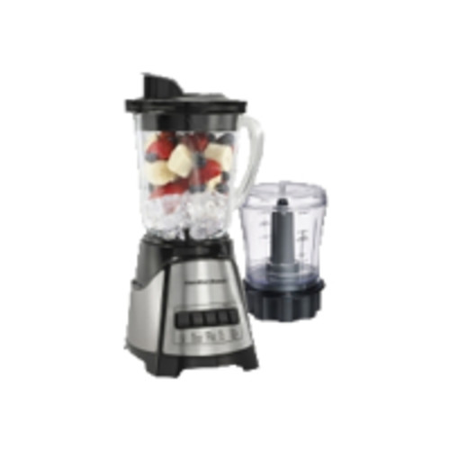 Hamilton Beach Brands Inc. Hamilton Beach Power Elite Multi-Function Blender with Glass Jar and Chopper (58149)