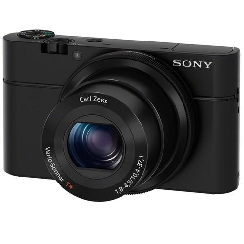 Sony Cyber Shot DSC-RX100 II WiFi 20.2MP Black Digital Camera