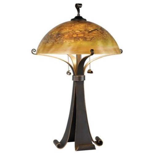 Wildon Home Santa Fe Bourne 28.38'' H Table Lamp with Bowl Shade
