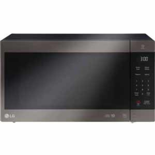 LG 2.0 cu. ft. NeoChef Countertop Microwave with Smart Inverter and EasyClean - Black Stainless Steel