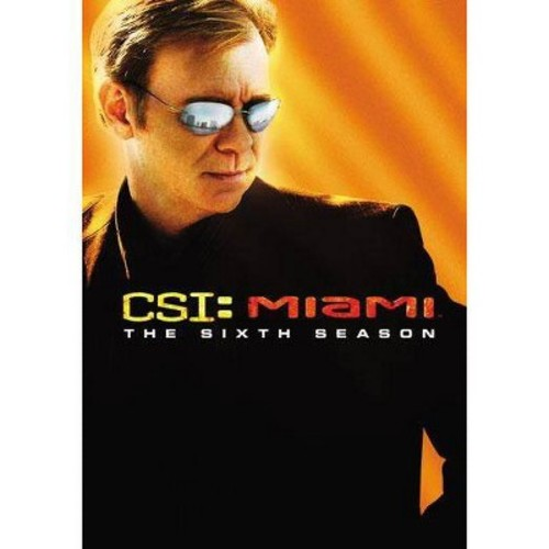 CSI: Miami - Complete Sixth Season (DVD)