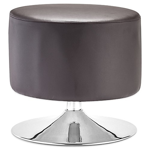 Zuo Plump Ottoman in Brown