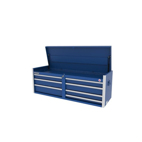 International Tech Series 54 in. 7-Drawer Top Chest in Blue