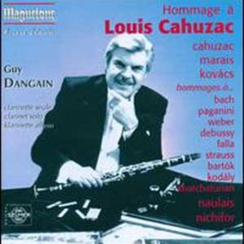 Hommage  Louis Cahuzac By Guy Dangain (Audio CD)