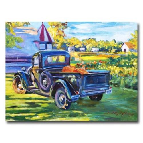 Trademark Fine Art 'The Pumpking Pickup' 35