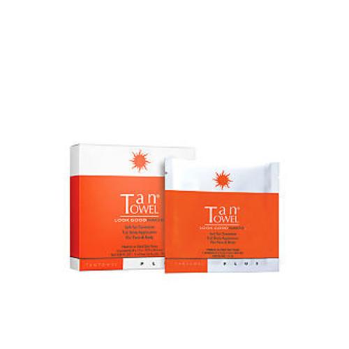 TanTowel Full Body Plus 5 Pack Self-Tanning Towelettes