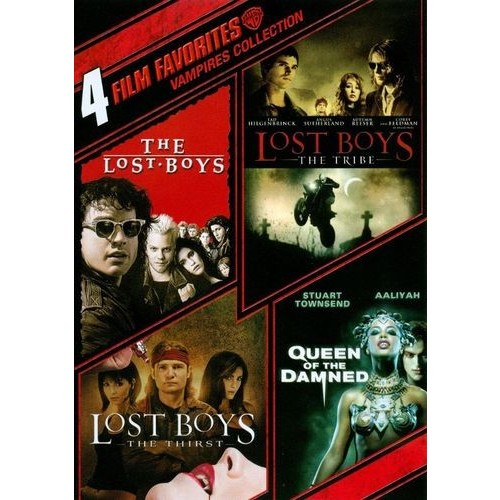 Vampires Collection: 4 Film Favorites [4 Discs] [DVD]