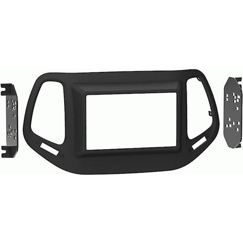 Metra 99-6545B Dash Kit (Matte Black) Fits select 2017-up Jeep Compass vehicles (new body style)  single-DIN radios