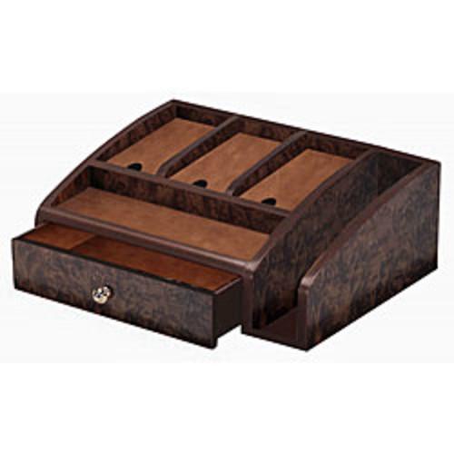 Proman Decorative Storage & Organizers Monarch Rich Mahogany Dresser Valet