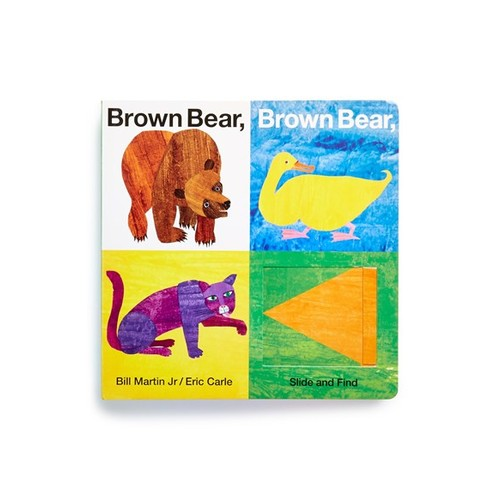 'Brown Bear, Brown Bear, What Do You See?' Slide & Find Book
